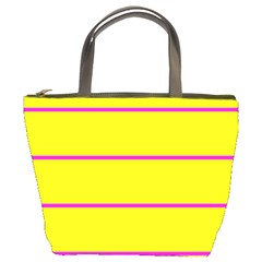 Background Image Horizontal Lines And Stripes Seamless Tileable Magenta Yellow Bucket Bags