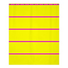 Background Image Horizontal Lines And Stripes Seamless Tileable Magenta Yellow Shower Curtain 60  X 72  (medium)