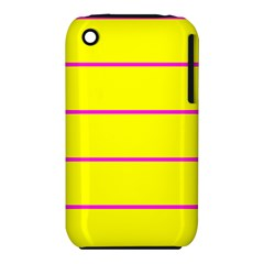 Background Image Horizontal Lines And Stripes Seamless Tileable Magenta Yellow iPhone 3S/3GS