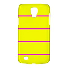 Background Image Horizontal Lines And Stripes Seamless Tileable Magenta Yellow Galaxy S4 Active