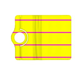 Background Image Horizontal Lines And Stripes Seamless Tileable Magenta Yellow Kindle Fire Hd (2013) Flip 360 Case