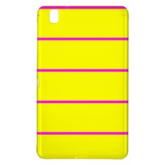 Background Image Horizontal Lines And Stripes Seamless Tileable Magenta Yellow Samsung Galaxy Tab Pro 8 4 Hardshell Case