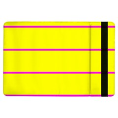 Background Image Horizontal Lines And Stripes Seamless Tileable Magenta Yellow Ipad Air Flip