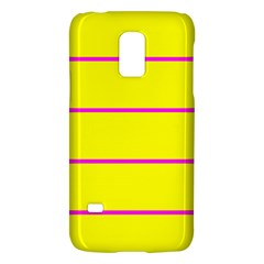 Background Image Horizontal Lines And Stripes Seamless Tileable Magenta Yellow Galaxy S5 Mini