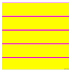 Background Image Horizontal Lines And Stripes Seamless Tileable Magenta Yellow Large Satin Scarf (square)