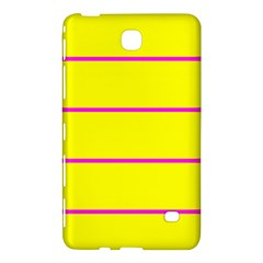 Background Image Horizontal Lines And Stripes Seamless Tileable Magenta Yellow Samsung Galaxy Tab 4 (8 ) Hardshell Case