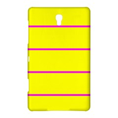 Background Image Horizontal Lines And Stripes Seamless Tileable Magenta Yellow Samsung Galaxy Tab S (8 4 ) Hardshell Case