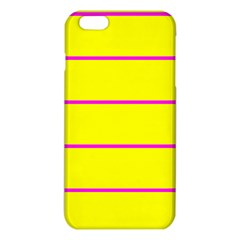 Background Image Horizontal Lines And Stripes Seamless Tileable Magenta Yellow Iphone 6 Plus/6s Plus Tpu Case
