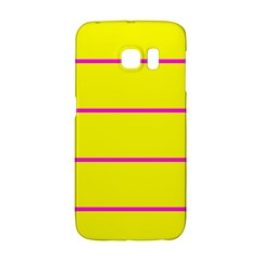 Background Image Horizontal Lines And Stripes Seamless Tileable Magenta Yellow Galaxy S6 Edge