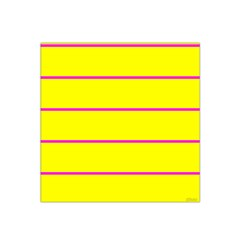 Background Image Horizontal Lines And Stripes Seamless Tileable Magenta Yellow Satin Bandana Scarf