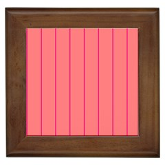 Background Image Vertical Lines And Stripes Seamless Tileable Deep Pink Salmon Framed Tiles
