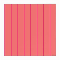 Background Image Vertical Lines And Stripes Seamless Tileable Deep Pink Salmon Medium Glasses Cloth (2 Side)