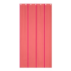 Background Image Vertical Lines And Stripes Seamless Tileable Deep Pink Salmon Shower Curtain 36  X 72  (stall)