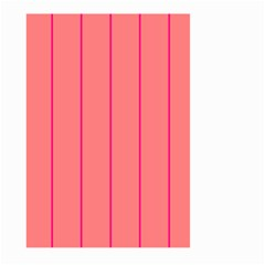 Background Image Vertical Lines And Stripes Seamless Tileable Deep Pink Salmon Large Garden Flag (two Sides)
