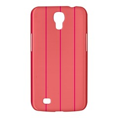 Background Image Vertical Lines And Stripes Seamless Tileable Deep Pink Salmon Samsung Galaxy Mega 6 3  I9200 Hardshell Case