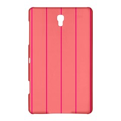Background Image Vertical Lines And Stripes Seamless Tileable Deep Pink Salmon Samsung Galaxy Tab S (8.4 ) Hardshell Case