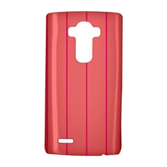 Background Image Vertical Lines And Stripes Seamless Tileable Deep Pink Salmon LG G4 Hardshell Case