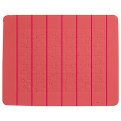 Background Image Vertical Lines And Stripes Seamless Tileable Deep Pink Salmon Jigsaw Puzzle Photo Stand (rectangular)