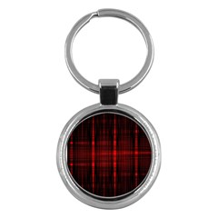Black And Red Backgrounds Key Chains (Round)