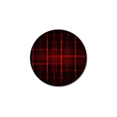 Black And Red Backgrounds Golf Ball Marker