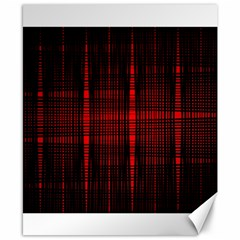 Black And Red Backgrounds Canvas 8  X 10
