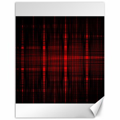 Black And Red Backgrounds Canvas 12  X 16