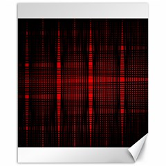 Black And Red Backgrounds Canvas 16  X 20