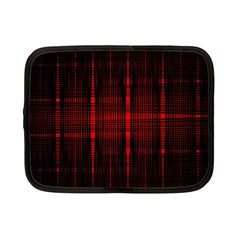 Black And Red Backgrounds Netbook Case (small)