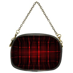 Black And Red Backgrounds Chain Purses (one Side)
