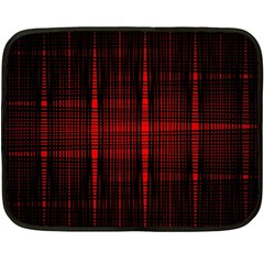 Black And Red Backgrounds Fleece Blanket (mini)