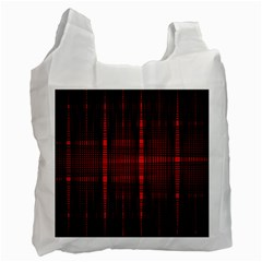 Black And Red Backgrounds Recycle Bag (one Side)