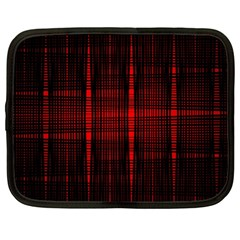 Black And Red Backgrounds Netbook Case (xl)