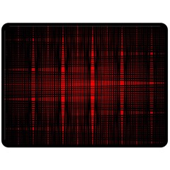 Black And Red Backgrounds Fleece Blanket (large)