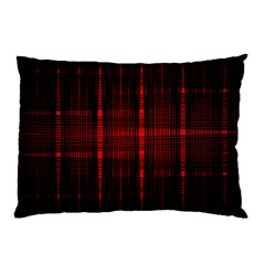 Black And Red Backgrounds Pillow Case (two Sides)