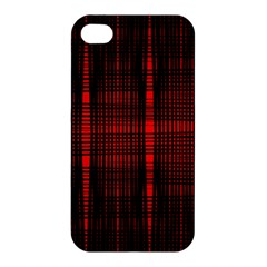 Black And Red Backgrounds Apple Iphone 4/4s Premium Hardshell Case