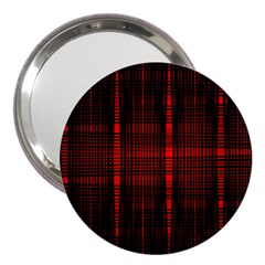 Black And Red Backgrounds 3  Handbag Mirrors
