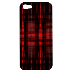 Black And Red Backgrounds Apple Iphone 5 Hardshell Case