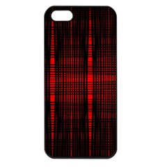 Black And Red Backgrounds Apple Iphone 5 Seamless Case (black)