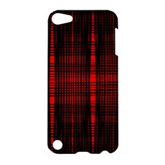 Black And Red Backgrounds Apple Ipod Touch 5 Hardshell Case