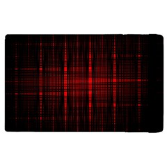 Black And Red Backgrounds Apple Ipad 3/4 Flip Case