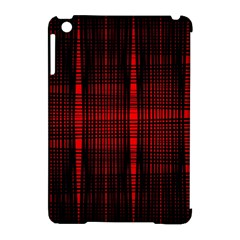 Black And Red Backgrounds Apple Ipad Mini Hardshell Case (compatible With Smart Cover)