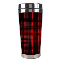 Black And Red Backgrounds Stainless Steel Travel Tumblers