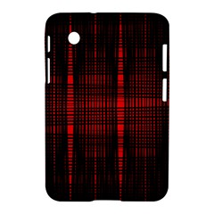 Black And Red Backgrounds Samsung Galaxy Tab 2 (7 ) P3100 Hardshell Case