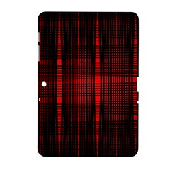 Black And Red Backgrounds Samsung Galaxy Tab 2 (10 1 ) P5100 Hardshell Case