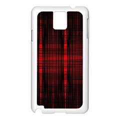 Black And Red Backgrounds Samsung Galaxy Note 3 N9005 Case (white)