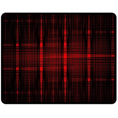Black And Red Backgrounds Double Sided Fleece Blanket (medium)