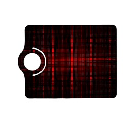 Black And Red Backgrounds Kindle Fire Hd (2013) Flip 360 Case
