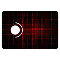 Black And Red Backgrounds Kindle Fire Hdx Flip 360 Case