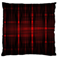 Black And Red Backgrounds Large Flano Cushion Case (two Sides)