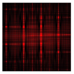 Black And Red Backgrounds Large Satin Scarf (square)